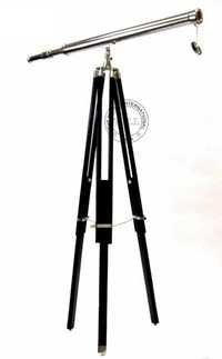 Nautical Harbor Master Telescope On Tripod Stand