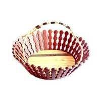 Desi Karigar Wooden Flower And Fruit Basket
