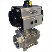 3piece ball valve pneumatic actuator