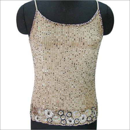 Beaded Evening Tops