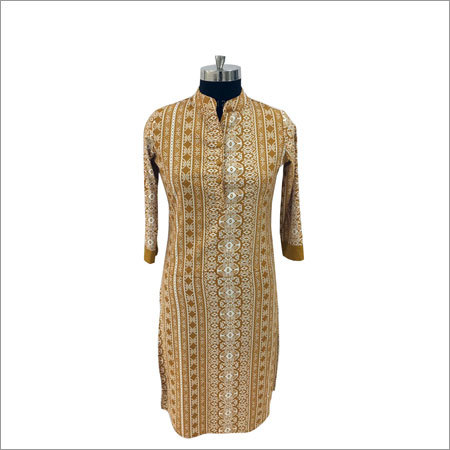 Stylish Ladies Kurti With Palazzo