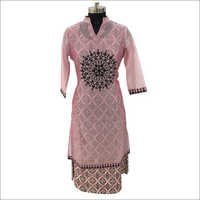 Fancy Sleeveless Kurti