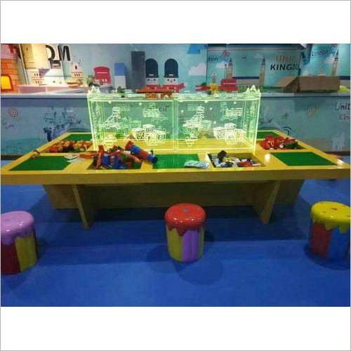 Fantasy Building Block Kiddy Amusement Desk
