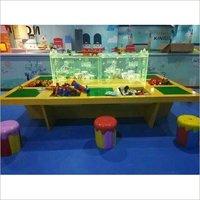 Fantasy Building Block Kiddy Amusement Desk