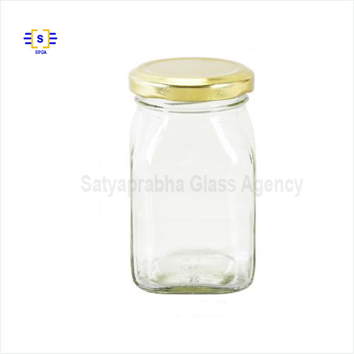 500 Gm Square Honey Jar