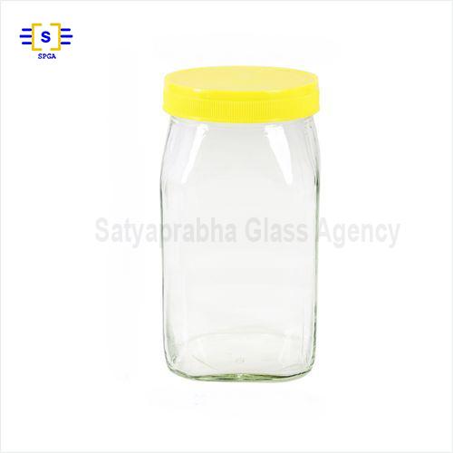 1 Kg Square Honey Jar