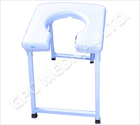 Folding Commode Stool