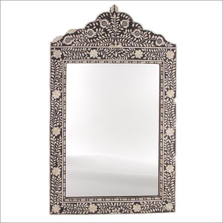 Bone Inlaid Mirror Frame