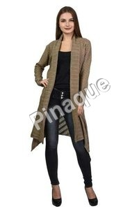 Long Woolen Cardigan