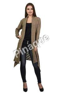 Long Woolen Cardigan