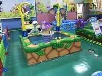 Cutie mushroom kiddy fishing pool amusement entertainment