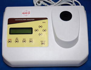 Hemoglobin Analyzer