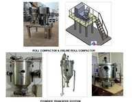 Roll Compactor, Powder Transfer System