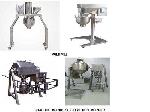 Multi Mill, Octagonal Blender, Double Cone Blender