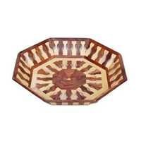 Desi Karigar Beautiful Handicrafts Wooden Lining Tray