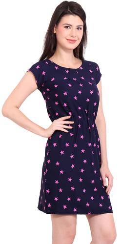 Girls Blue Pink Dress
