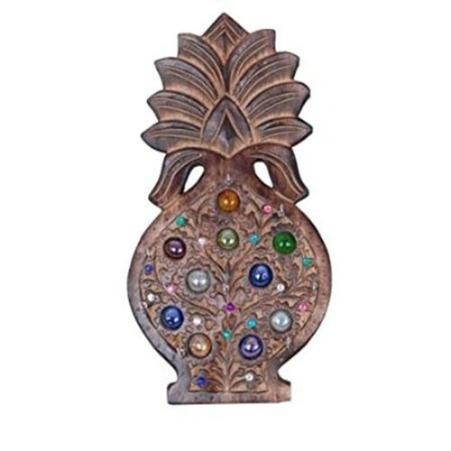 Desi Karigar Wooden Pineapple Design Key Holder 13 inch