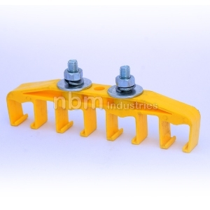 Pin Joint Busbar 4 Pole Hanger Clamp