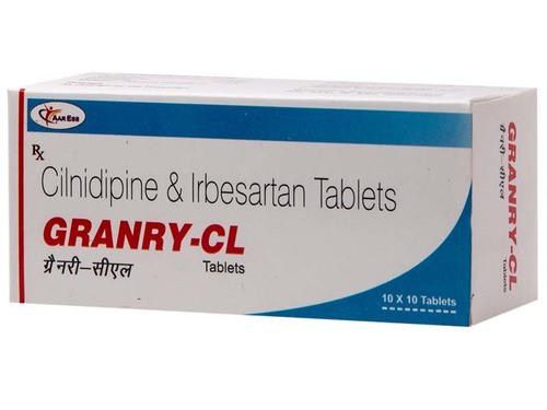 Irbesartan 150 mg+cilnidipine 5mg