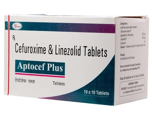 CEFUROXIME 500mg + Linezolid 600mg