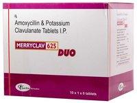 Amoxycillin 500 mg+ clavulanicacid 125mg