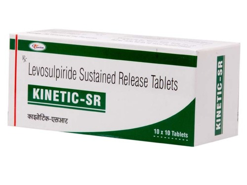 KINETIC-SR (Levosulpiride 75mg Sustained release)