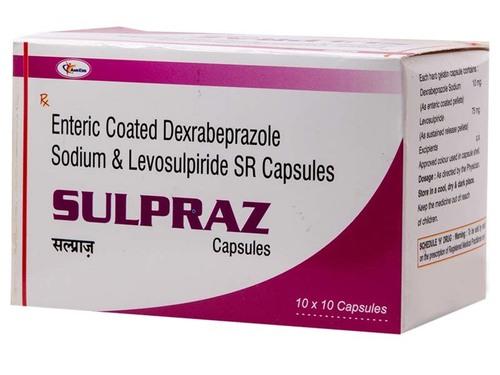 Rabeprazole 20mg+Levosulpride 75 mg SR
