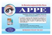 APPE (Poly Ethylene glycol 0.4% w/v+propylene glycol 0.3 w/v)