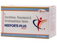 Acebrophylline 100mg+paracetamol 325mg
