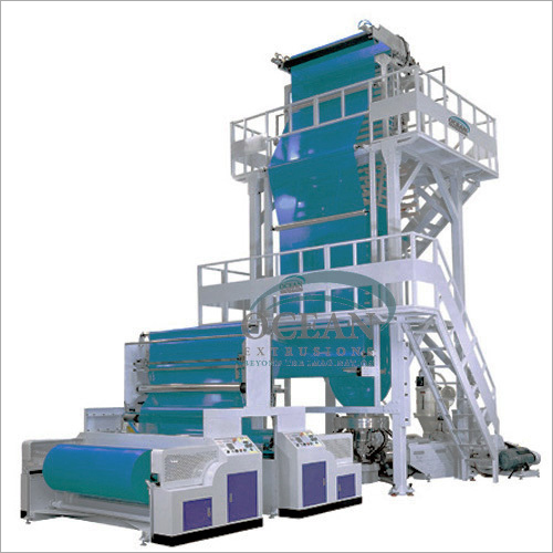 Blown Film Machine Multi Layer Blown Film Extrusion Lines