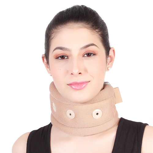 SOFT CERVICAL COLLAR WITH SUPPORT VENT
