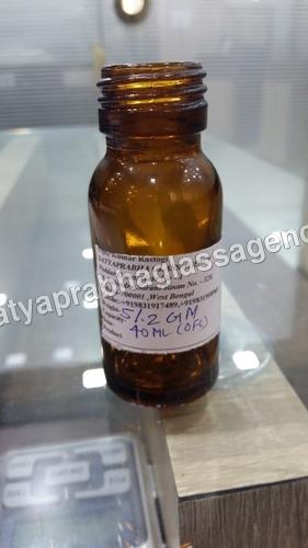 40 ML Medical Bottle