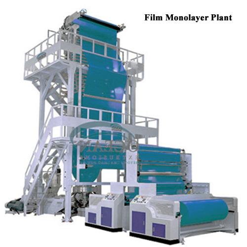 Plastic Extruder Blow Film Plant