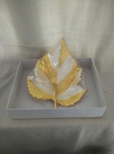 Sliver Gold Plated Leaf