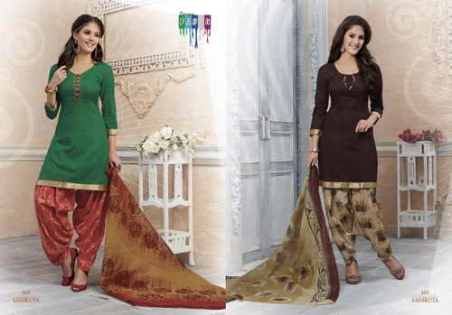 Indian Salwar kameez Cotton