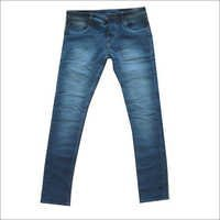 Blue Balloon Fitting Jeans