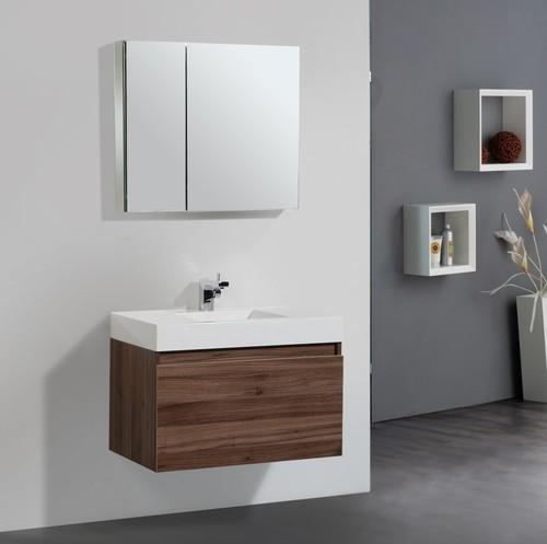 Glass Bathroom Vanity