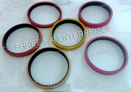 Paper Pulling Rubber Coated Belt