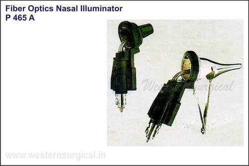 ENT (Fiber optics nasal illuminator)