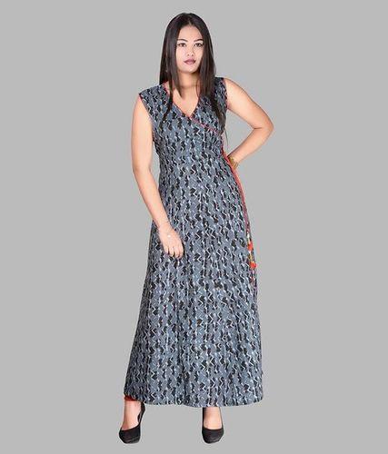 Designer Long Cotton Dress