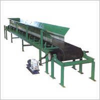 Rubber Belt Conveyor.
