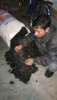 Goli raw human hair