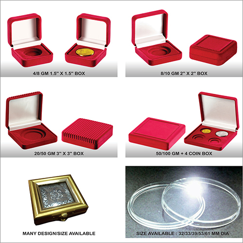 Coin Medal Boxes