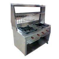 Chhole Bhature counter