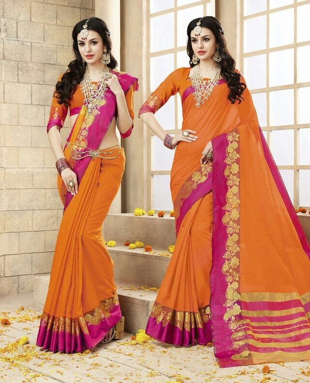Try Good Red Graceful Weaving Saree