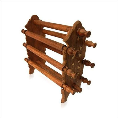 Desi Karigar Wooden Handicraft Wooden Bangle Stand