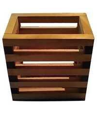 Desi Karigar Handicrafted Wooden Pen Stand