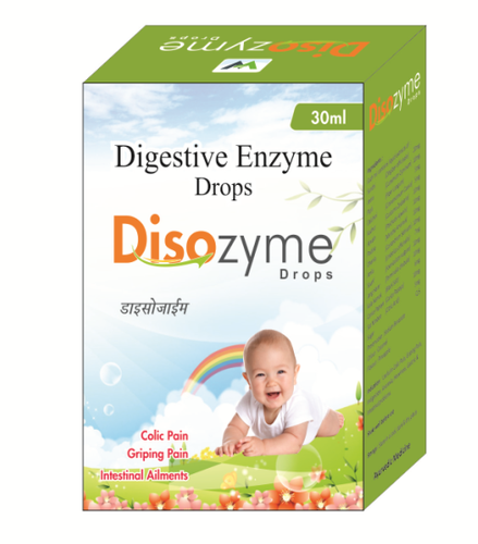 Enzyme drops