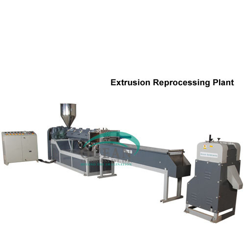Extrusion Reprocessing Plant-PET