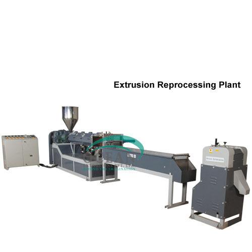 Extrusion Reprocessing Plant-PET